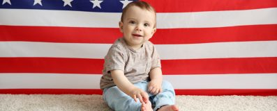 small-Adorable-baby-boy-on-American--134651957